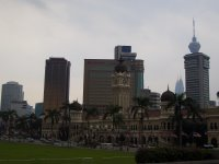 Sultan Abdul Samad Building that currently houses the Supreme and High Courts