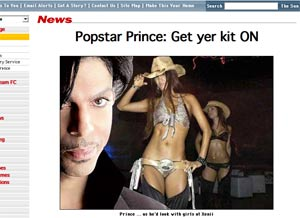 Prince mock=up