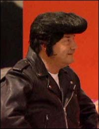 Galloway as Elvis