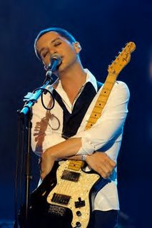 You only get a hug from Molko's mug