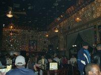 Dentro do bar - Inside the bar