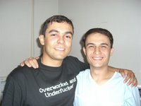 Eu e Cabral - Me and my friend Cabral