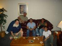 Christofe, Matt, Hani, Lavern and me