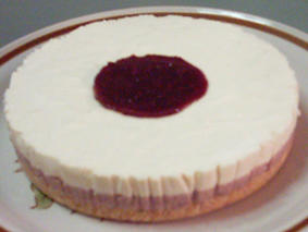 Tazz In The Kitchen: Non-Bake Tofu Red Bean Cheesecake