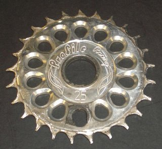 Jake's chewed up 25T sprocket