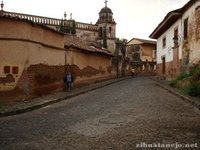 Ancient street in Patzcuaro