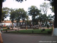 Plaza don Vasco de Quiroga in Patzcuaro