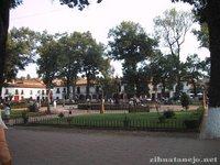 Plaza don Vasco de Quiroga in Patzcuaro
