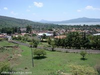 The town of Tzintzuntzan