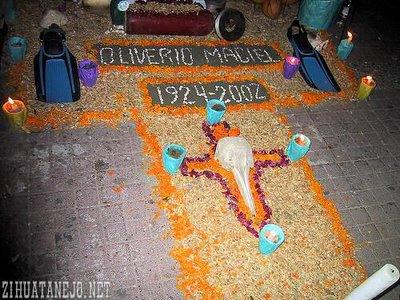 Altar for Oliverio Maciel