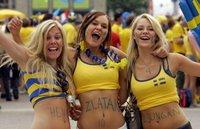 Las suecas siempre tan... deseables