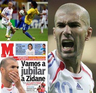 Zinedine Zidane, entre los 5 grandes