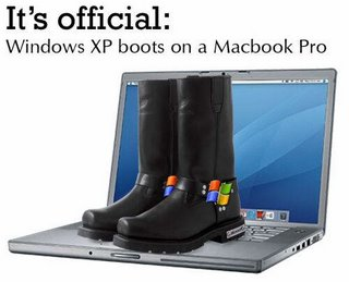 XP boots on a Mac