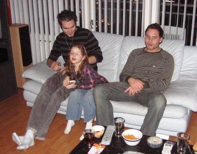 Mike, Liz en Dan