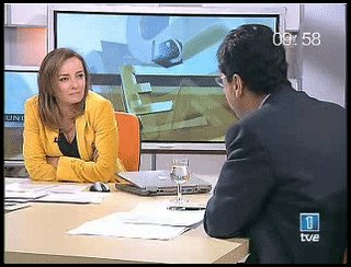 imagen televisiva de los desayunos de TVE