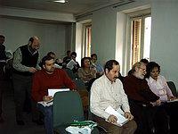 Reunión en el Ateneo de Madrid de la junta directiva de la FeSP