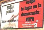 cartel electoral del Referendum por la Reforma Política el 15-12-1976