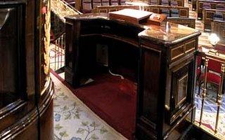 tribuna de oradores del Congreso de los Diputados