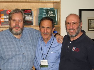 Left to Right: Rod Long, David Gordon, and Walter Block