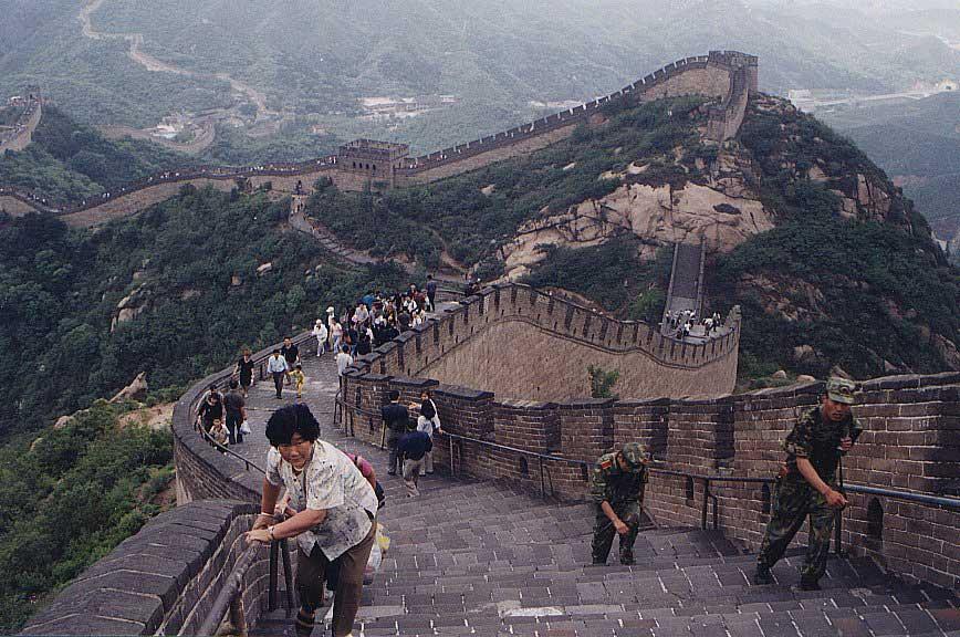 O homem produto de si pr prio 691 a grande muralha da for A grande muralha da china