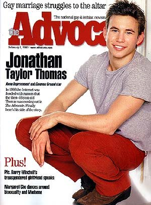 from Levi is jonathan taylor thomas gay
