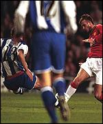 David Beckham broke his second metatarsal