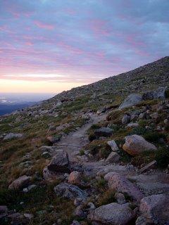 Long's Peak Sunrise
