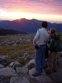 Long's Peak Sunrise