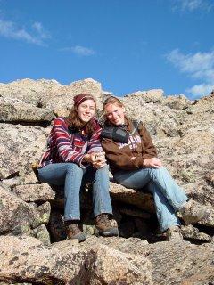 In the boulderfield
