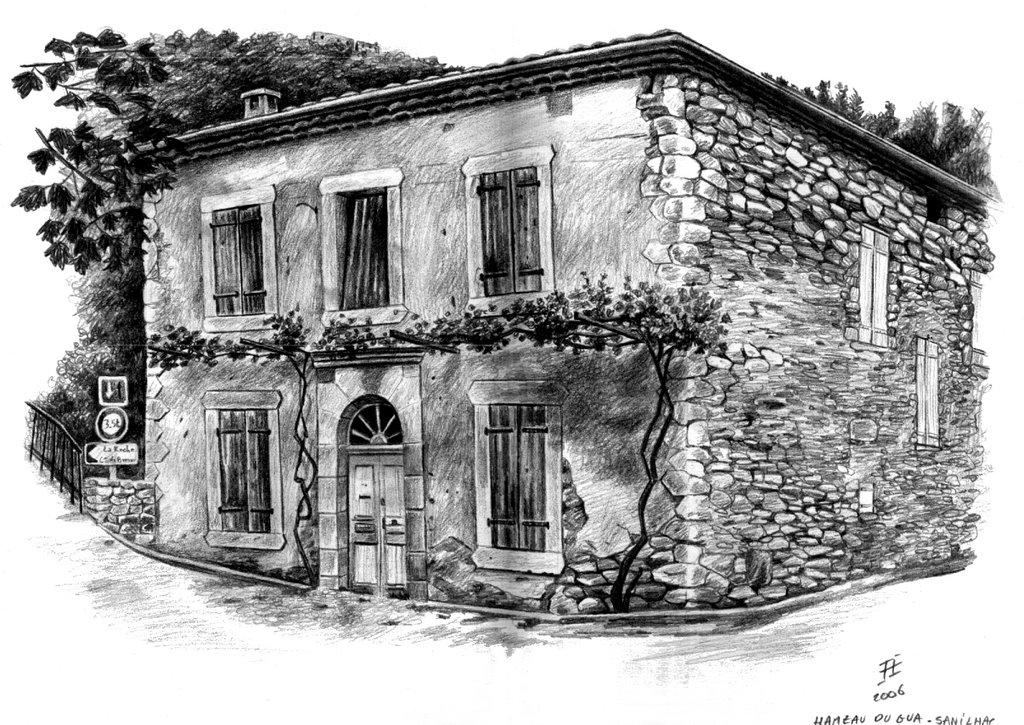 Les maisons du gua la maison du pont - La maison du sourcil ...