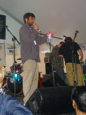 aziz ansari at Pitchfork Party