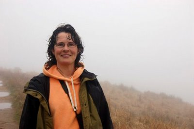 Image of Marianne Skoczek on hike in Point Reyes, California