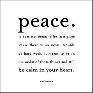 the meaning of peace