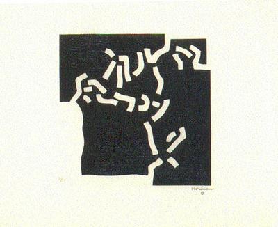 Chillida: Beltza II (1969)