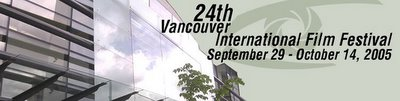Festival International du Film de Vancouver en Colombie Britannique, Canada