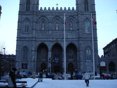 Cathédrale Sainte Catherine (Ville de Montréal, province du Québec, Canada)