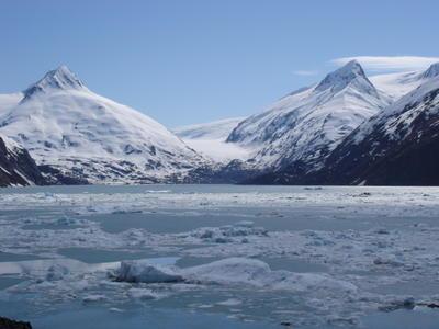 Sur la route de Valdez (Alaska, USA, Amérique du Nord)