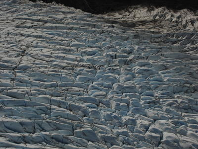 Glacier à Homer (Alaska, USA, Amérique du Nord)