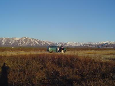 Notre van (Alaska, USA, Amérique du Nord)