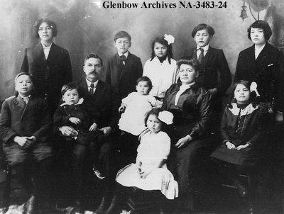 Une famille de Vancouver en Colombie Britannique