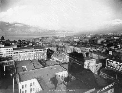 Le port de Vancouver en Colombie Britannique