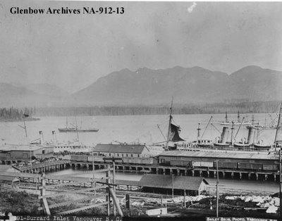 Vue sur Vancouver Nord, Canada