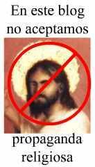 Di NO a la propaganda religiosa.