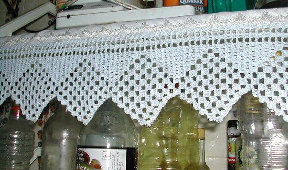 Cenefas para cocina en crochet imagui - Cenefas de crochet ...