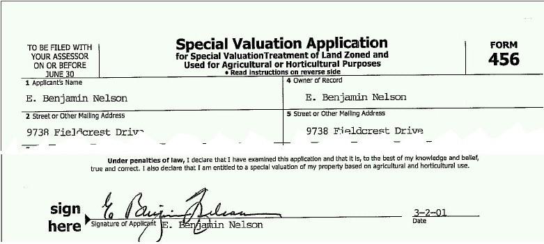 Dodge County Nebraska Property Valuation