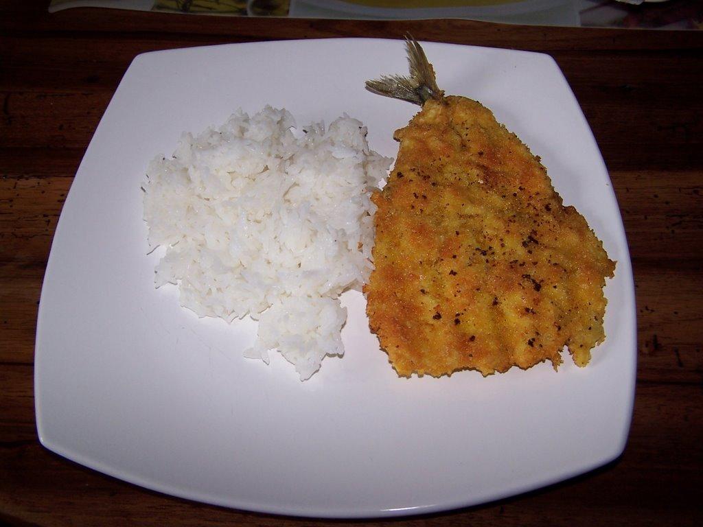 Vientiana Lao Cuisine: Maquereaux panés à la japonaise