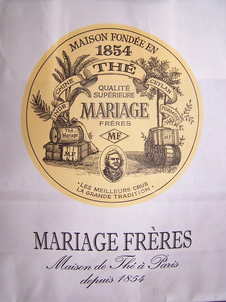 hier aprs midi je me suis fait plaisir en dcidant daller avec des amis prendre le th mariage frres dans le marais paris cest la deuxime fois que - The Mariage Freres Commande