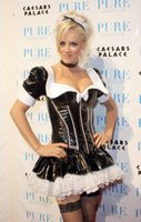 Jenny McCarthy in a French Maid Outfit