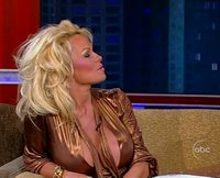 Pamela Anderson on Jimmy Kimmel Live