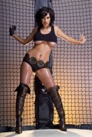 Sophie Howard in Boots